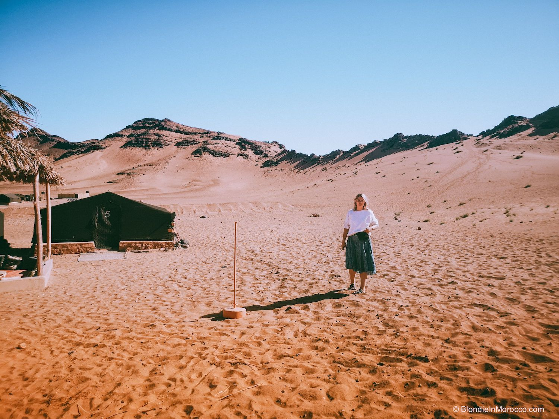 desert zagora morocco dunes