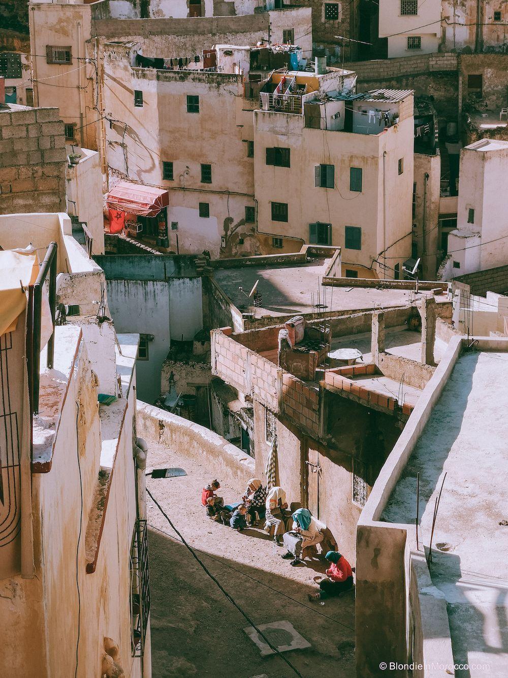 bhalil village morocco button Djellaba