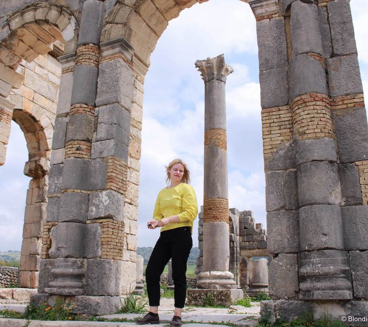 Visit to an Ancient Roman ruins of Volubilis in Morocco