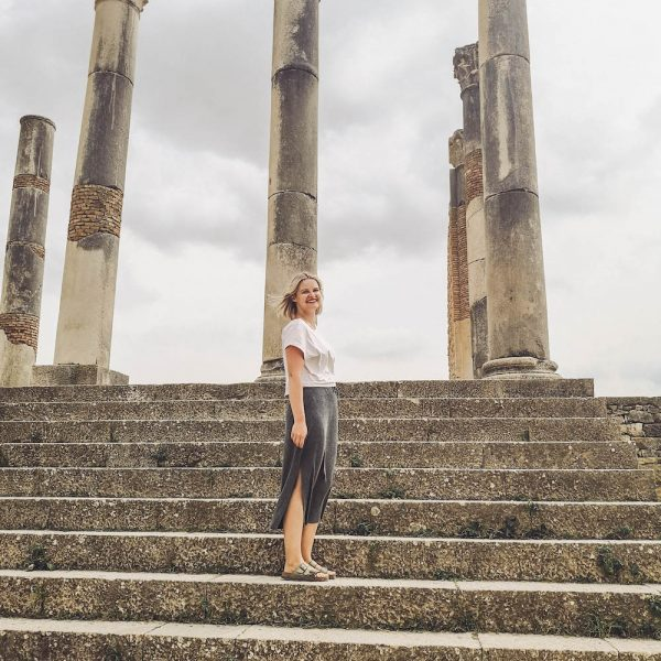 Visit to Ancient Roman ruins of Volubilis in Morocco