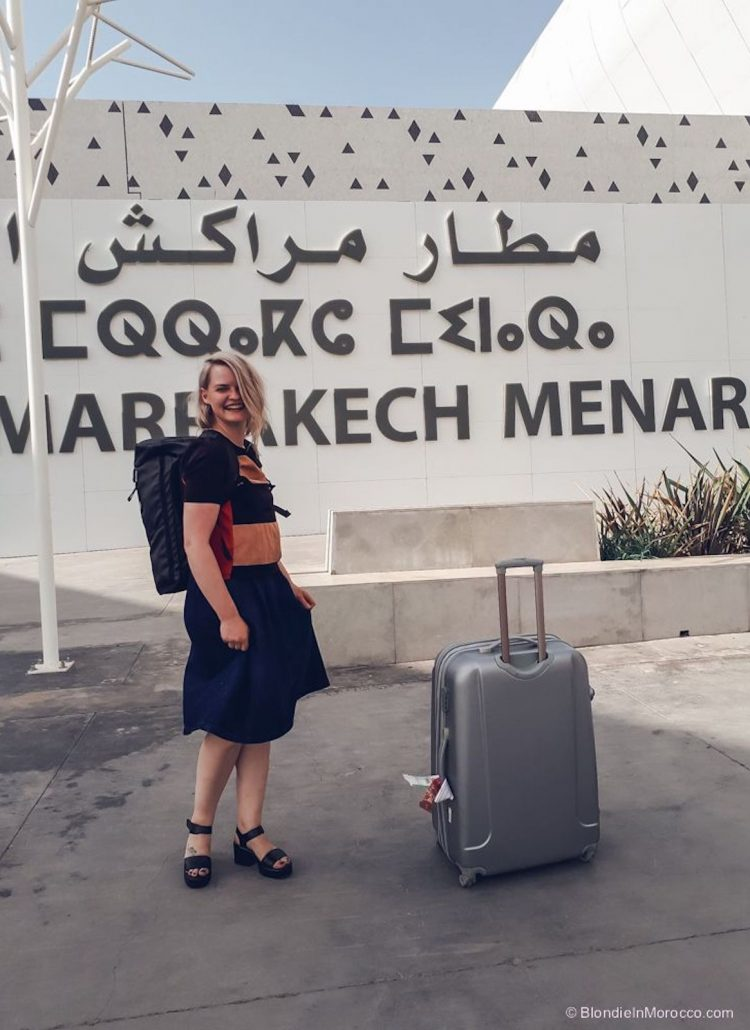 How to get from Marrakech airport to the city center