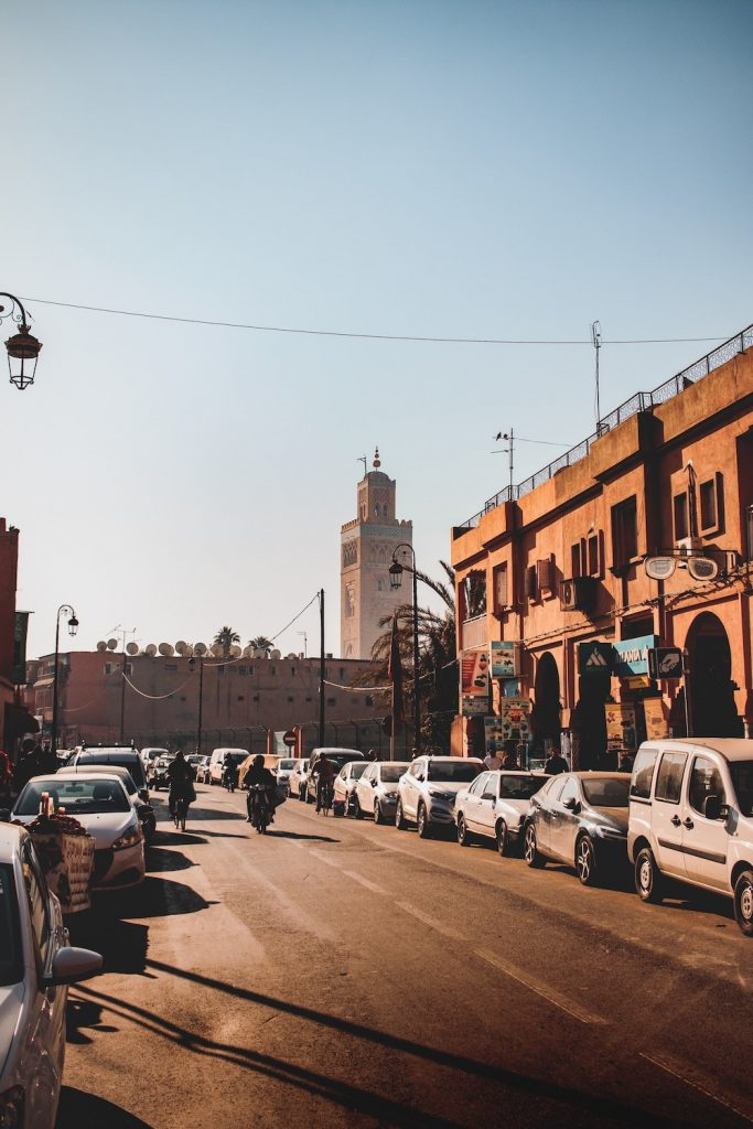 morocco car street