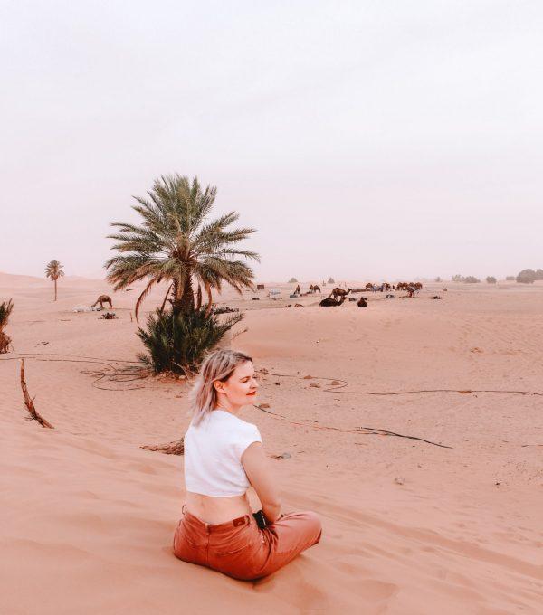 erg chigaga desert morocco dunes sahara